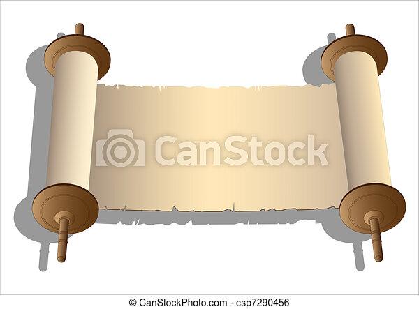 vektor, ősi, cikornyázik - csp7290456