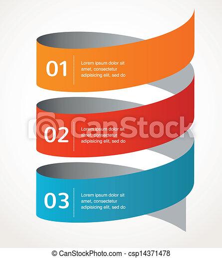 vektor, elvont, infographics, háttér, tervezés, ikon - csp14371478