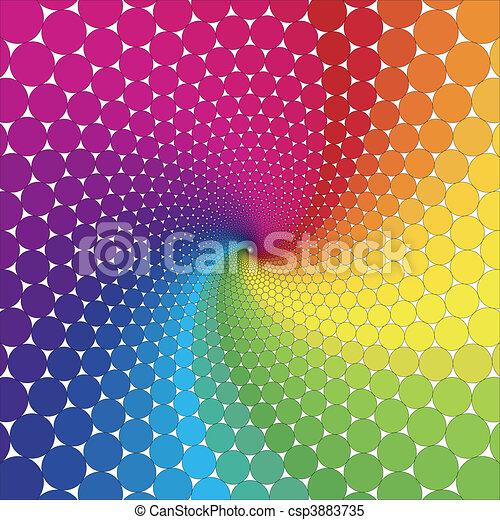 vektor, -, illúzió, látási - csp3883735
