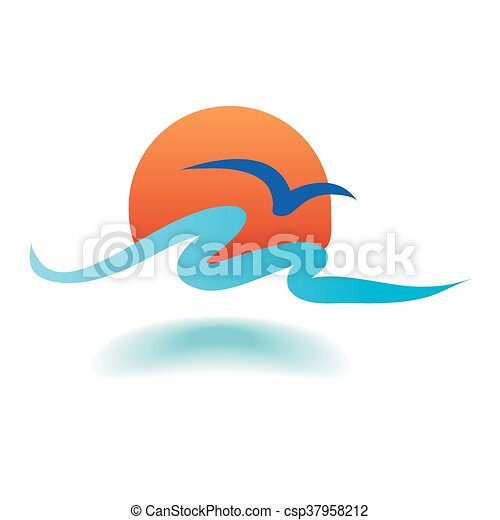 vektor, tenger, lenget - csp37958212