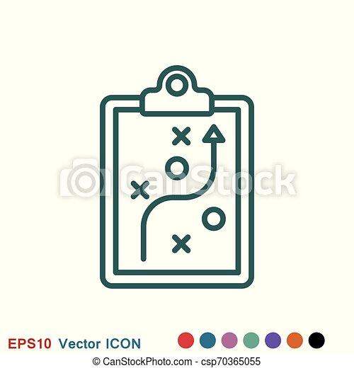 vektor, transzparens, jel, ikon, edző, autóbusz, fogalom - csp70365055