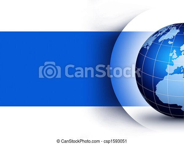 világ földgolyó, tervezés, fogalom - csp1593051