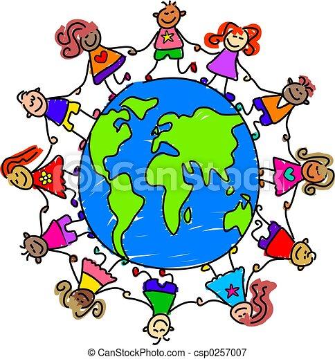 világ, gyerekek - csp0257007