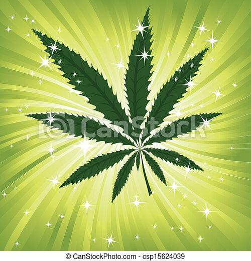 virágos, backg, kender, zöld, ihlet - csp15624039