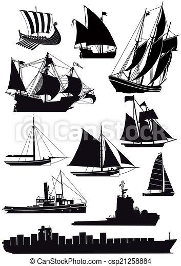 vitorlázás hajó - csp21258884