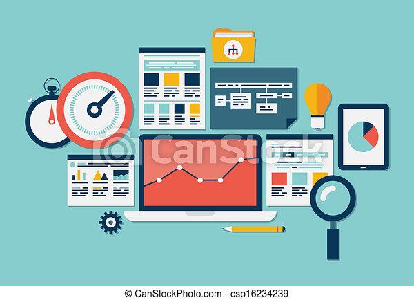 website, seo, analytics, ikonok - csp16234239