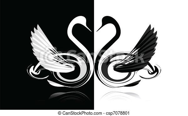 white hattyú, fekete - csp7078801