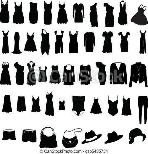 womens, öltözet, különféle, silho - csp5435754