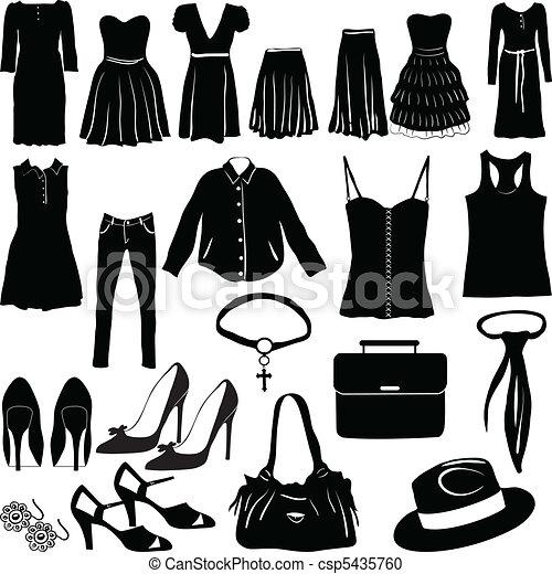 womens, öltözet, különféle - csp5435760