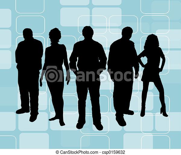 young emberek - csp0159632