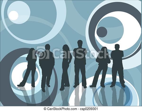 young emberek - csp0209301