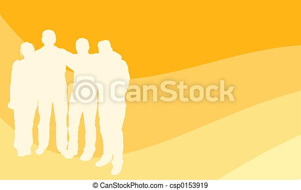 young emberek - csp0153919