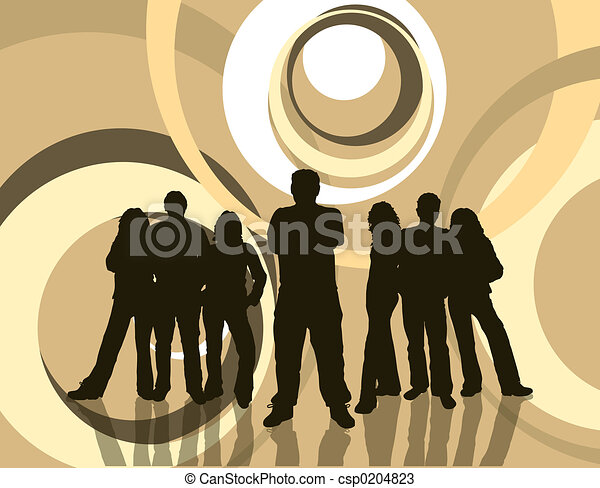 young emberek - csp0204823