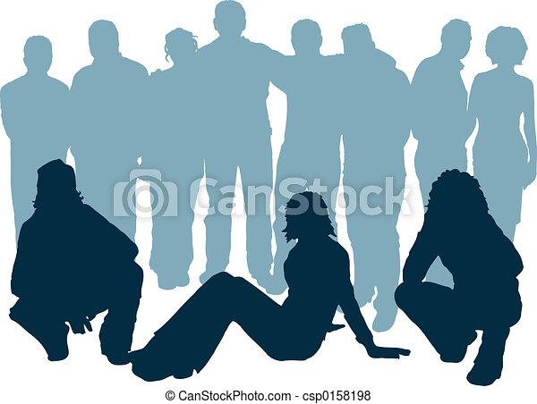 young emberek - csp0158198