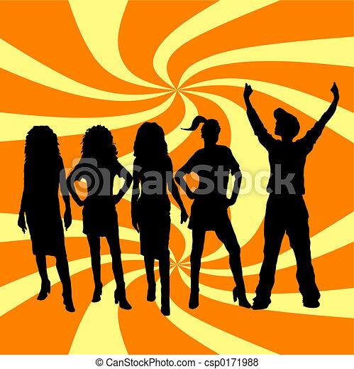 young emberek - csp0171988
