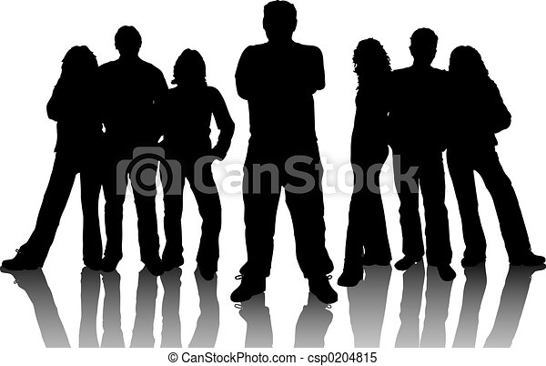 young emberek - csp0204815