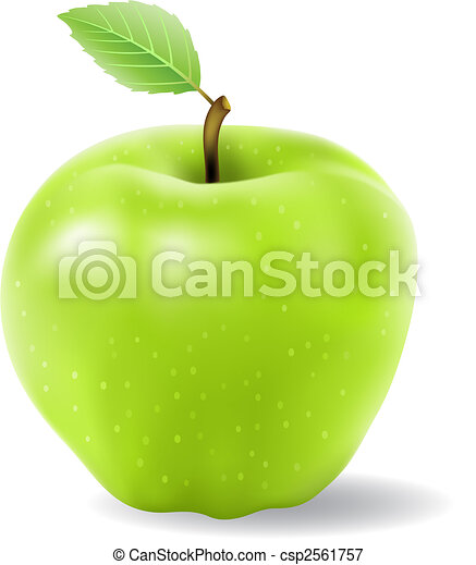 zöld alma - csp2561757