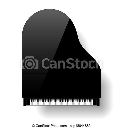 zongora, nagy, black tető, kilátás - csp18044883